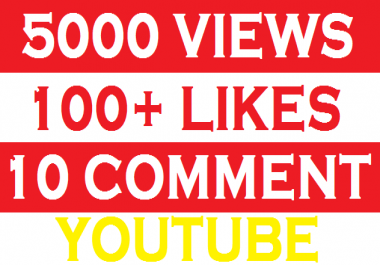2000-3000 High Retention + Splitable None Drop Real Youtube Views with gurantee subs and favaurits