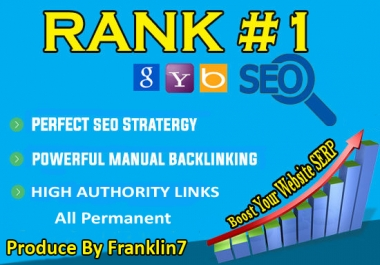 skyrocket your Google Rankings with 50 Permanent Unique High Pr Seo Social Backlinks