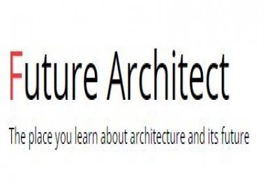 Advertise with a unique Architecture website (Future Architect)