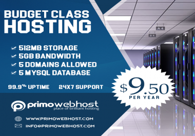 High Quality Web Hosting - Yearly