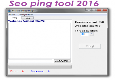 SEO Ping Faster Indexing tool