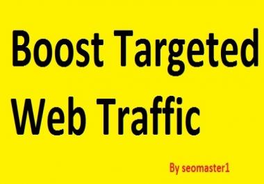 Drive 30000+ Targeted Website Traffic By Social Media