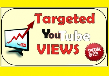 Added Targeted Country Youtube Views 1000 Choose Your Country