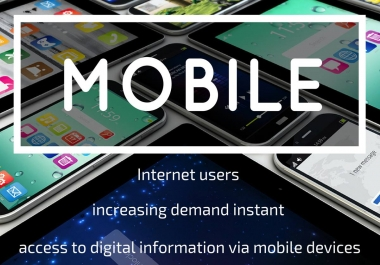 Unlimited Genuine IOS and Android mobile traffic