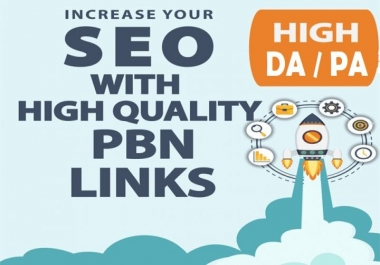 I will Create 15 permanent High DA PA CF Powerful PBN Backlinks To Skyrocket you SERP