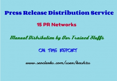 Instant Press Release Distribution
