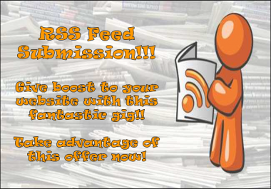 UP To 20 Rss Feed Submission to Over 200 Rss Ping Engines