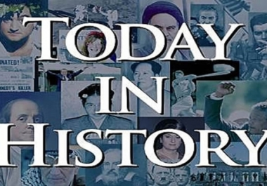 This Day In History DATABASE sql, csv, xml with 120000 entries