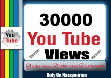 Get 30000 Highly Quality Views Fully safe Instant Start