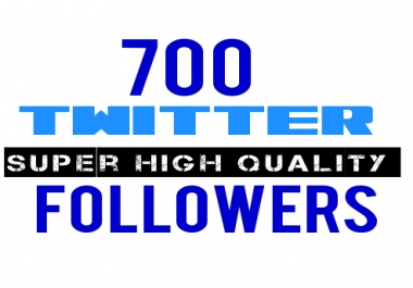 700 Super High Quality Twitter Audit Pass Followers