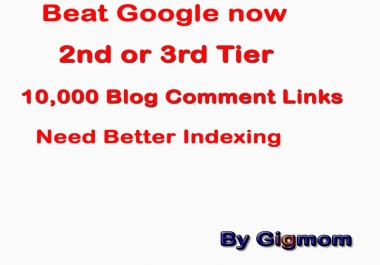 2nd Tier - 20,100 Multi Platform Super Backlinks to get Better INDEX