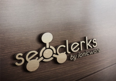 fast turn your text or logo into realistic 3D MockUp Wooden design