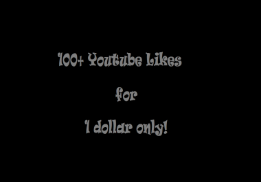 Get 100+ Youtube likes