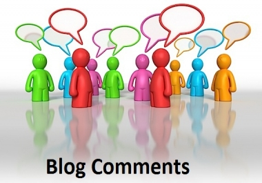 I will manually do 40 High Pa and Da blog comment backlinks