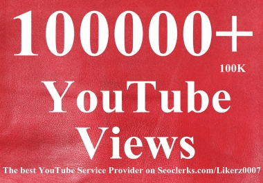 Get 100000++ High retention and Safe YouTube Video Promotion