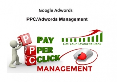 Manage Google Adwords PPC Campaign
