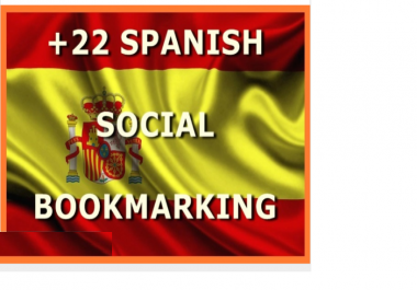 do backlinks SEO with 22 Spanish, Spain Social Bookmarking Sites and Bonus
