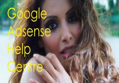 Adsense help centre , help you now