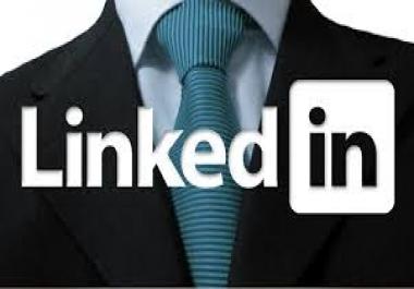 1000 linkdin shares for website