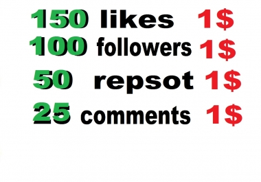 150 Soundcloud Likes Or 100 Followers Or 50 Soundcloud Repost Or 25 Comments Or 50  Youtube Likes  for $1