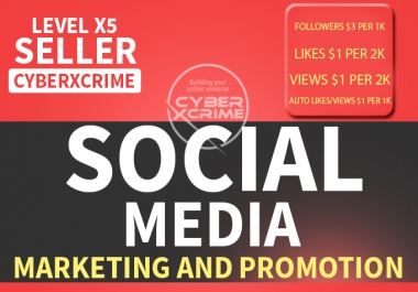 SOCIAL MEDIA Marketing and Promotion