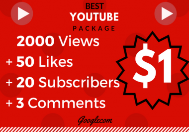 Lifetime 2000-3000 Monetizable_Vie_ws+ 10_Lik_es+ 10 Comnts+ 10 Subs