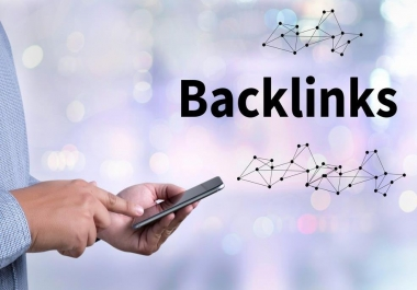 6 Highest quality backlinks PR9 - DA (Domain Authority) 70+