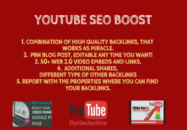I will do a video organic promotion to various web 2.0 and social media websites