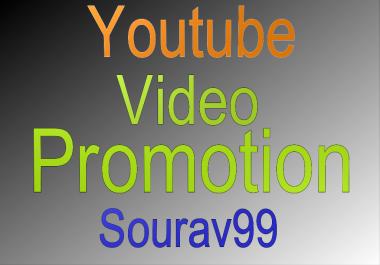 Organic Youtube Video Promotion