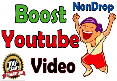 I will blow up your YOUTUBE video, Fast And Safe Guaranteed