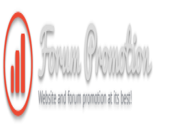 Do-follow footer text link on Forum Promotion for 1 month