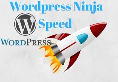 Get your wordpress Site like Rocket.