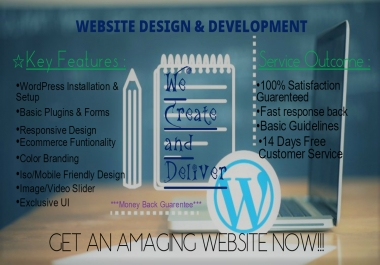 I'll design your PORTFOLIO website
