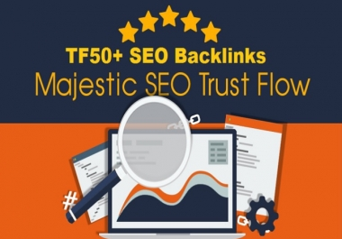Menually do high DA,TF,CF 40 SEO permanent backlinks
