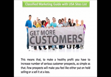 post your ads 40 times on Different High PR classified website in USA, UK, Canada, Austrailia