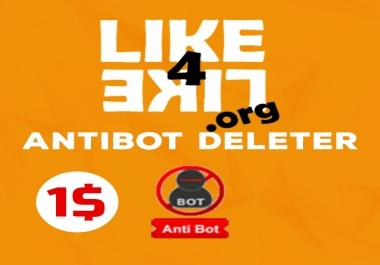 New Like4like Antibot deleter Updated 08/2017