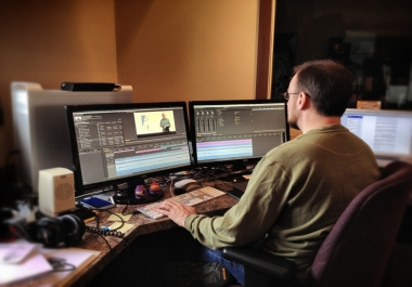 do Video editing Professionally within 48Hrs