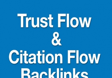 Provide 42 High Trust And Citation Flow Backlinks On High D/A All Dofollow