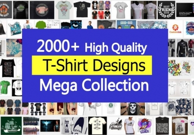 Top 2000 plus HQ  editable TShirt designs templates