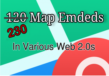 230 Google Maps embeds - Local SEO