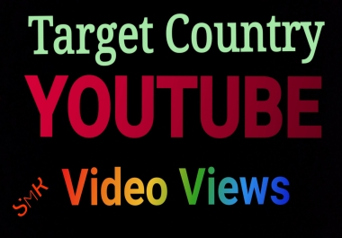 target country Custom social media link traffic view, like, comment, retweets, favorites