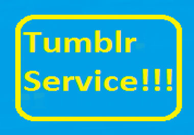 100+ Tumblr Follower/Like/Reblog Or 2 Expired Tumblr PA 28-30 with Backlink