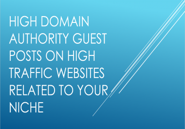Create a DA20-29 guest post backlink for your website