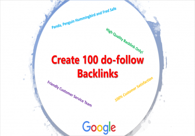 Create 100 do-follow Backlinks per week