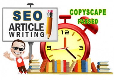 Get 3 Article 1200 Words Copyscape Passed SEO Friendly