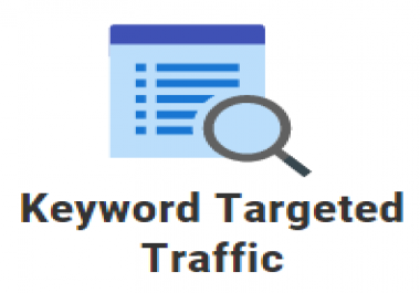 5000 keyword targeted google organic traffic