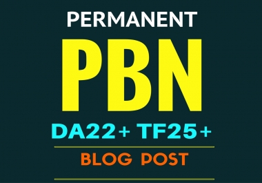 Exclusive Rank Authority 10 PBN blog post TF20+ PA20+ for you on my private blog network