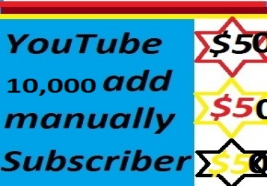 100000 or 100k youtube views or 10k subscribers only