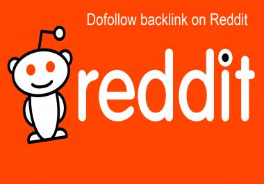 REDDIT Contextual DA 92 PA 52 DO Follow BACKLINK