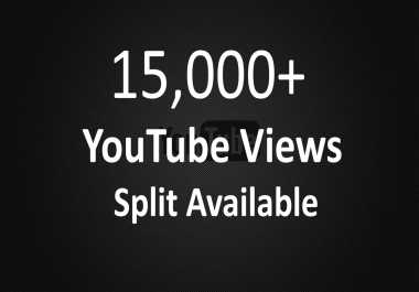 Get Instant 15,000+ YouTube Views Within 24 Hour`